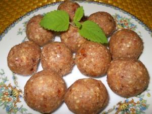 Lemon Nut Balls